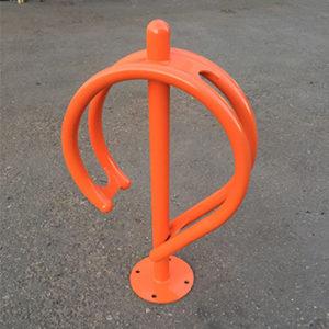 Велопарковка одиночная Дабл