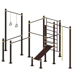 Спортивный комплекс для подготовки к сдаче норм ГТО 3