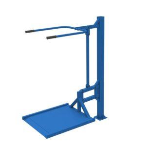 Уличный тренажер для колясочников Вертикальная тяга