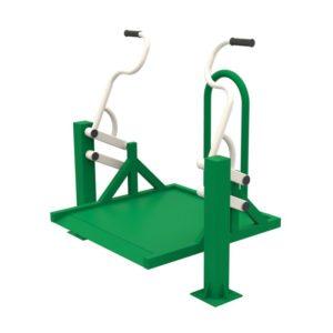 Уличный тренажер для колясочников Жим на платформе