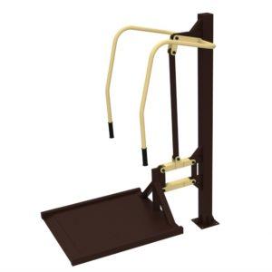 Уличный тренажер для колясочников Жим от груди
