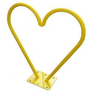 Велопарковка Сердце